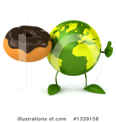 Earth Mascot Clipart #1339158 by Julos