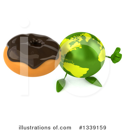 Earth Character Clipart #1339159 by Julos