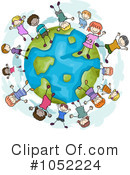 Earth Clipart #1052224 by BNP Design Studio