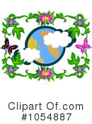 Royalty-Free (RF) Earth Clipart Illustration #1054887