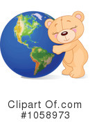 Royalty-Free (RF) Earth Clipart Illustration #1058973