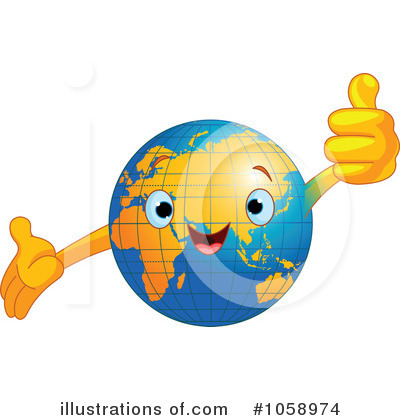 Earth Clipart #1058974 by Pushkin