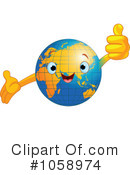 Royalty-Free (RF) Earth Clipart Illustration #1058974