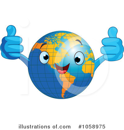 Earth Clipart #1058975 by Pushkin