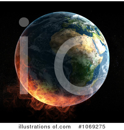 Royalty-Free (RF) Earth Clipart Illustration by Mopic - Stock Sample #1069275