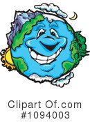 Royalty-Free (RF) Earth Clipart Illustration #1094003