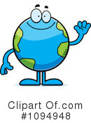 Royalty-Free (RF) Earth Clipart Illustration #1094948