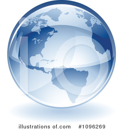 Globe Clipart #1096269 by TA Images