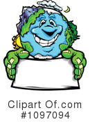 Royalty-Free (RF) Earth Clipart Illustration #1097094