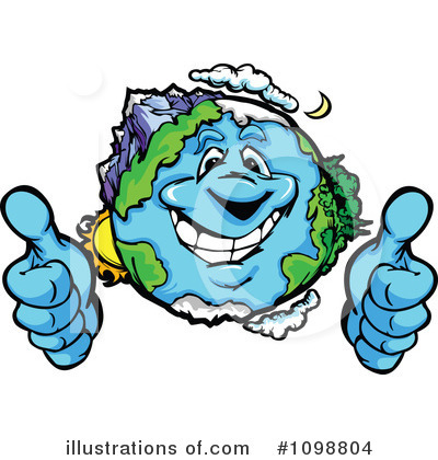 Earth Clipart #1098804 by Chromaco