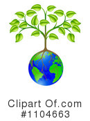 Earth Clipart #1104663 by AtStockIllustration