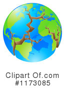 Royalty-Free (RF) Earth Clipart Illustration #1173085