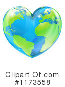 Royalty-Free (RF) Earth Clipart Illustration #1173558