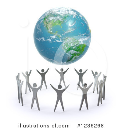 Royalty-Free (RF) Earth Clipart Illustration by Mopic - Stock Sample #1236268