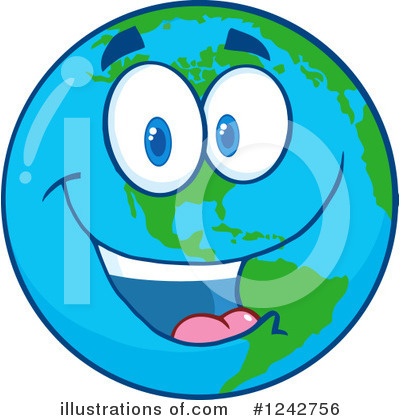 Earth Day Clipart #1242756 by Hit Toon