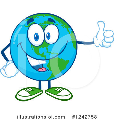 Earth Day Clipart #1242758 by Hit Toon