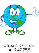 Royalty-Free (RF) Earth Clipart Illustration #1242758