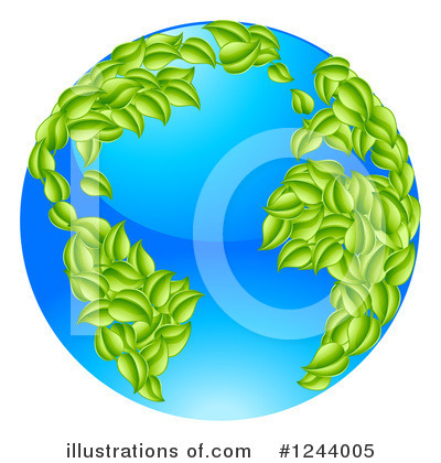 Globe Clipart #1244005 by AtStockIllustration