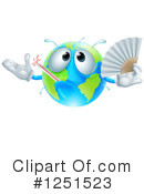 Royalty-Free (RF) Earth Clipart Illustration #1251523