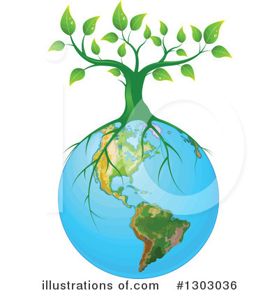 Tree Clipart #1303036 by Pushkin