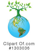 Royalty-Free (RF) Earth Clipart Illustration #1303036