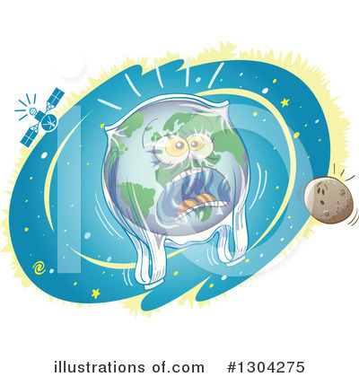 Royalty-Free (RF) Earth Clipart Illustration by Zooco - Stock Sample #1304275