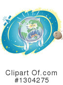 Royalty-Free (RF) Earth Clipart Illustration #1304275