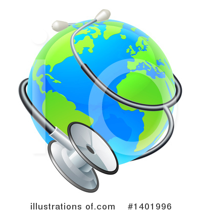 Globe Clipart #1401996 by AtStockIllustration