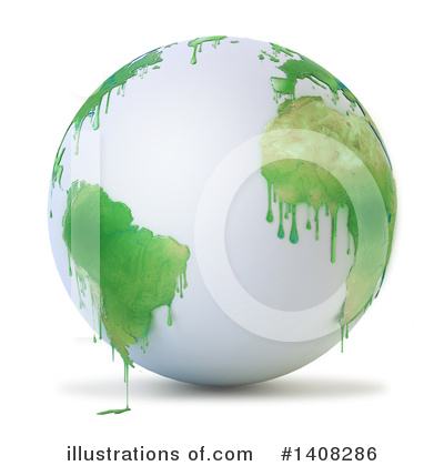 Royalty-Free (RF) Earth Clipart Illustration by Mopic - Stock Sample #1408286