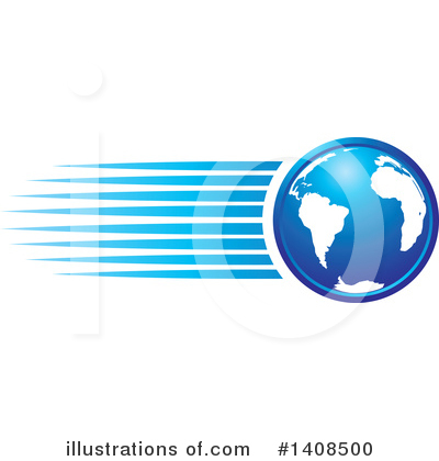 Globe Clipart #1408500 by Lal Perera