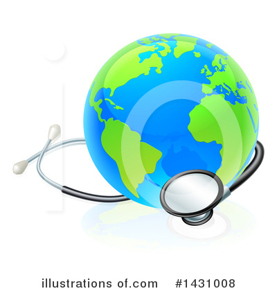 Stethoscope Clipart #1431008 by AtStockIllustration