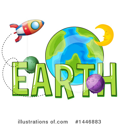 Royalty-Free (RF) Earth Clipart Illustration by Graphics RF - Stock Sample #1446883