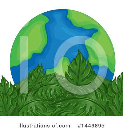 Leaves Clipart #1446895 by Graphics RF