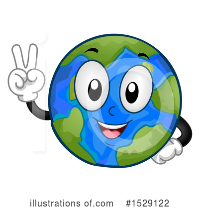 Earth Clipart #1529122 by BNP Design Studio