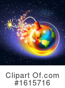 Earth Clipart #1615716 by Oligo