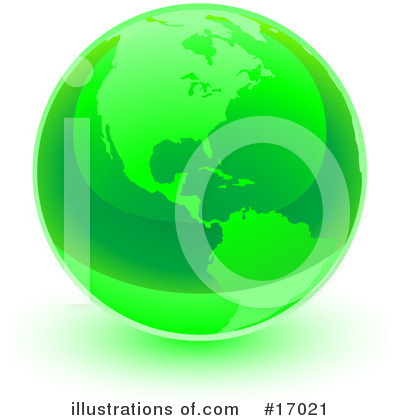 Royalty-Free (RF) Earth Clipart Illustration by Leo Blanchette - Stock Sample #17021