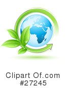 Royalty-Free (RF) Earth Clipart Illustration #27245