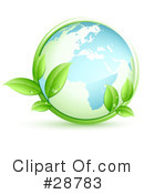 Royalty-Free (RF) earth Clipart Illustration #28783