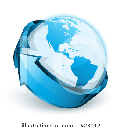 Globe Clipart #28912 by beboy