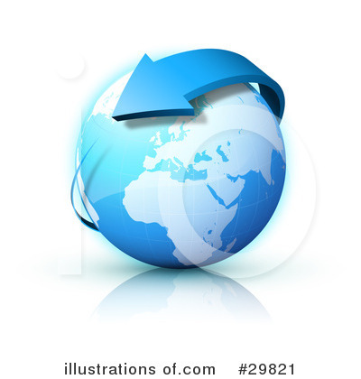 Globe Clipart #29821 by beboy