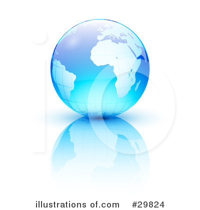 Globe Clipart #29824 by beboy