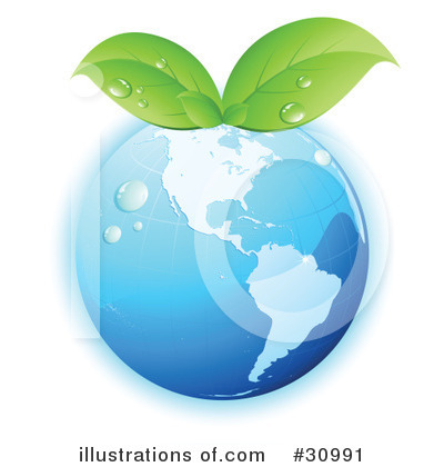 Royalty-Free (RF) Earth Clipart Illustration by beboy - Stock Sample #30991
