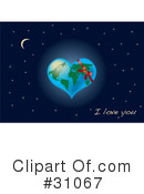 Royalty-Free (RF) Earth Clipart Illustration #31067