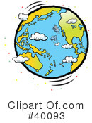 Royalty-Free (RF) earth Clipart Illustration #40093