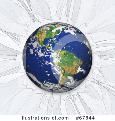 Royalty-Free (RF) Earth Clipart Illustration by Arena Creative - Stock Sample #67844