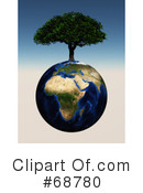Royalty-Free (RF) Earth Clipart Illustration #68780