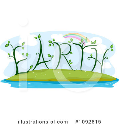 Earth Day Clipart #1092815 by BNP Design Studio