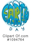 Earth Day Clipart #1094764 by BNP Design Studio