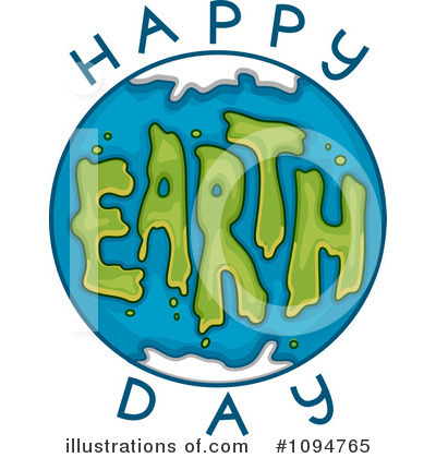 Earth Day Clipart #1094765 by BNP Design Studio
