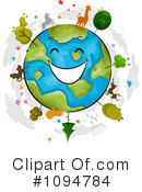 Royalty-Free (RF) Earth Day Clipart Illustration #1094784